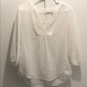 New York & Company(three quarter sleeve blouse)
